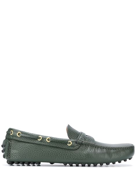 Green loafers CAR SHOE |  | KUD615XW8F0143