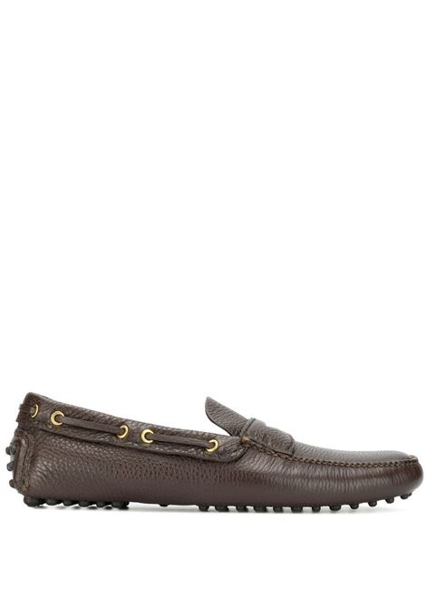 Brown loafers CAR SHOE |  | KUD615XW8F0201