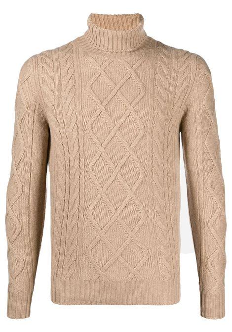 Camel brown jumper CENERE MAGLIE | JERSEYS | FU20512715011