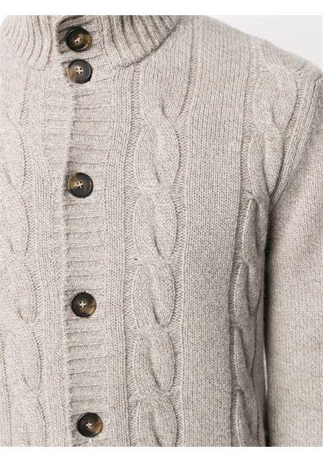 Beige cardigan CENERE MAGLIE | CARDIGAN | FU266108