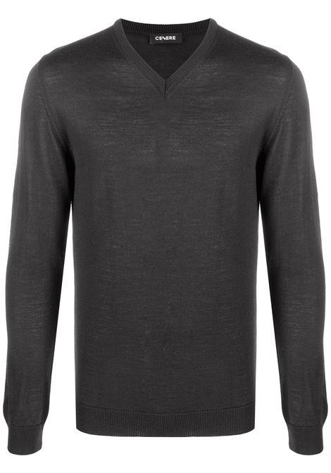 Maglione grigio scuro CENERE MAGLIERIA | MAGLIE | 320M0002000003