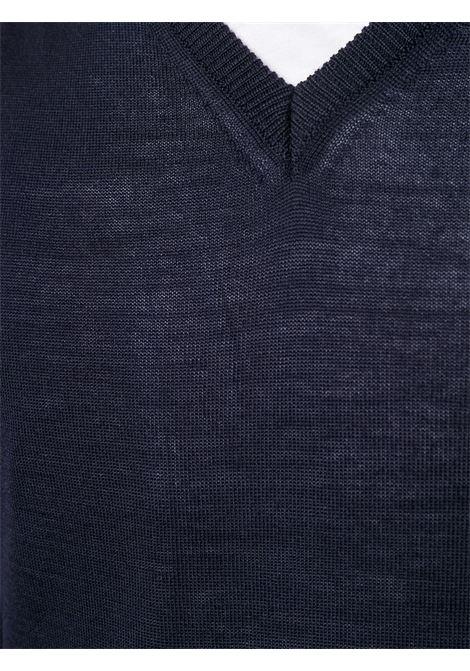 Maglione blu scuro CENERE MAGLIERIA | MAGLIE | 320M0002000015