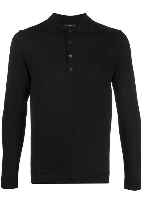 Black polo shirt CENERE MAGLIERIA |  | 320M0105000016