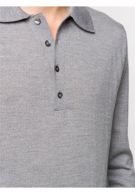 Grey polo shirt CENERE MAGLIERIA |  | 320M0105000072