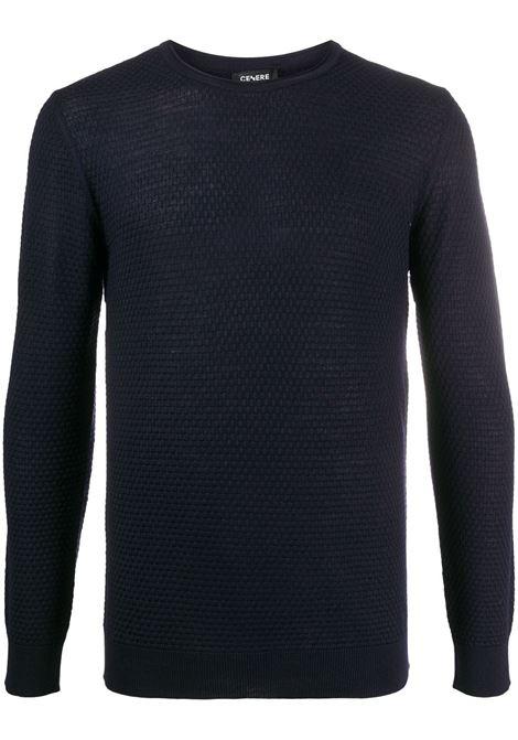 Maglione blu CENERE MAGLIERIA | MAGLIE | 320M0601000015