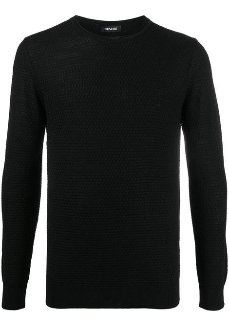 Maglione nero CENERE MAGLIERIA | MAGLIE | 320M0601000016