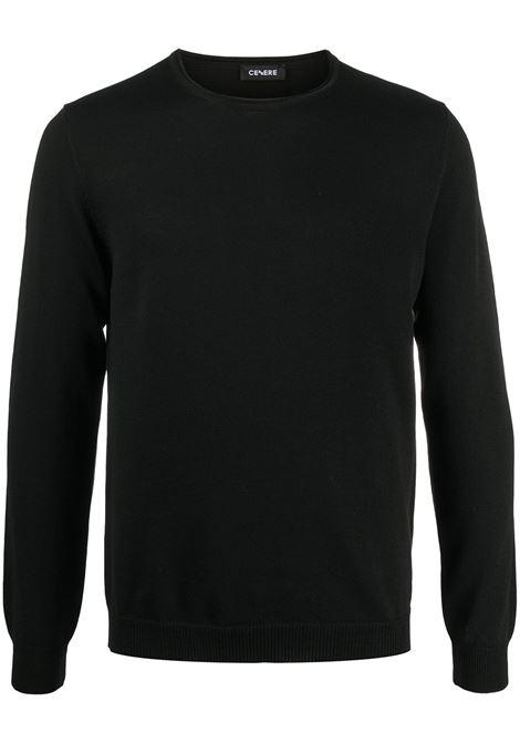 Maglione nero CENERE MAGLIERIA | MAGLIE | 320M2101000016
