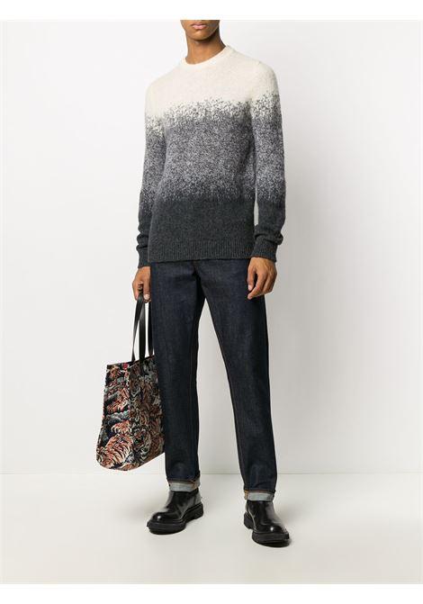 Off white/tonal grey jumper CENERE MAGLIERIA |  | 320W1001021M03