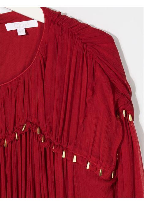 Red dress CHLOE | DRESS | C12802T953