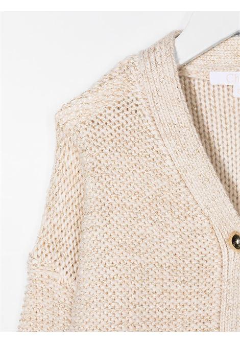 Cardigan beige CHLOE | CARDIGAN | C15B49148