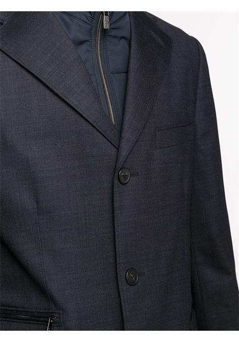 Cappotto blu CORNELIANI | CAPPOTTI | 8615840813509011