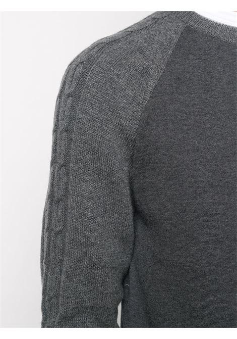 Maglione grigio CORNELIANI | MAGLIONE | 86M5970825140013