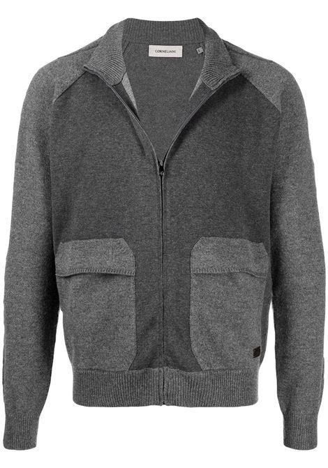 Maglione grigio CORNELIANI | MAGLIE | 86M5980825157013