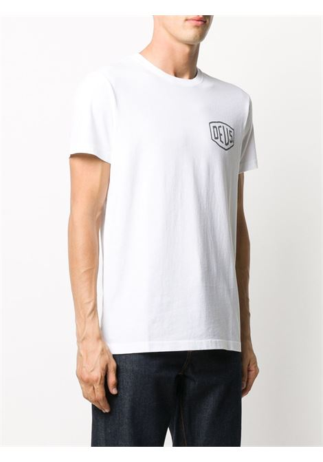 T-shirt bianca DEUS | T-SHIRT | 202TDMW41808RWHT