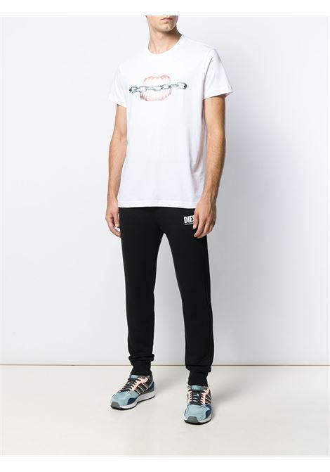 Pantalone nero DIESEL | PANTALONI | 00SZLB0BAWT900