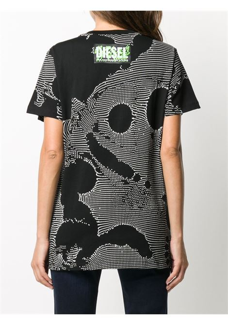 Black t-shirt DIESEL |  | A002570HERA9XXA