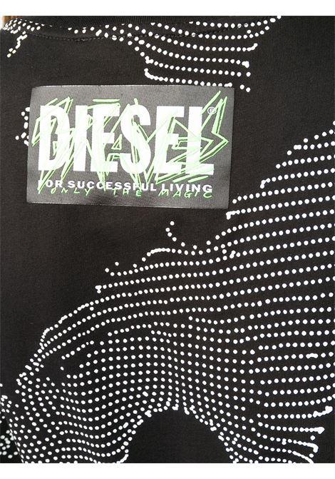 T-shirt nera DIESEL | T-SHIRT | A002570HERA9XXA