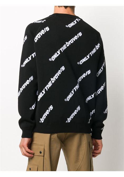 Pullover nero DIESEL | MAGLIE | A006140LAZE9XX