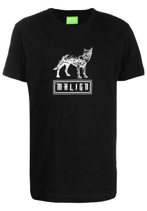 Black t-shirt DIESEL |  | A008000GRAA9XX