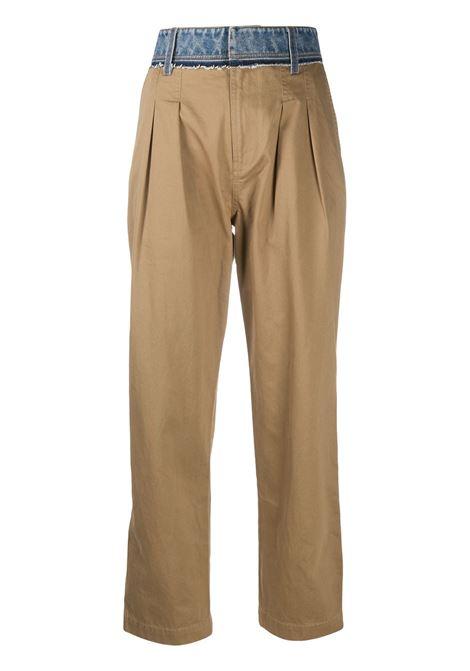 Pantalone beige DIESEL | PANTALONI | A008360GAXA7DC