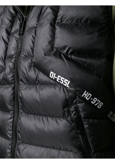 Gilet nero DIESEL | GIACCHE | A011360GBAD9XX