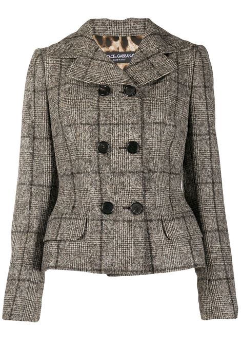 Check jacket DOLCE AND GABBANA |  | F28ZZTFQMIAS8100