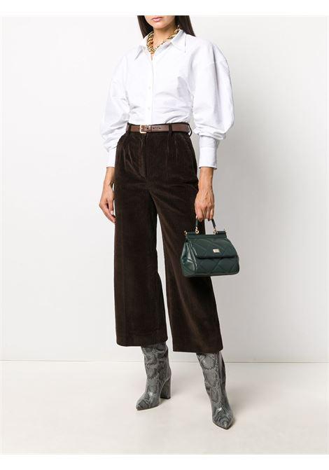 Brown trousers DOLCE & GABBANA | TROUSERS | FTBYZTFUWC5M0023