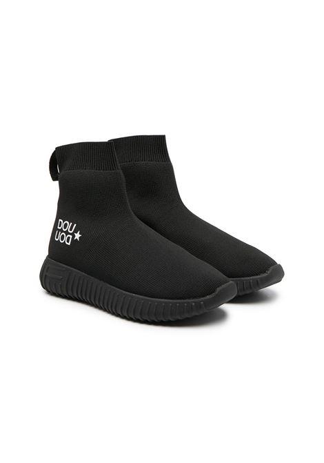 Black sneakers DOUUOD | BOOTS | 11SOCK07NERO