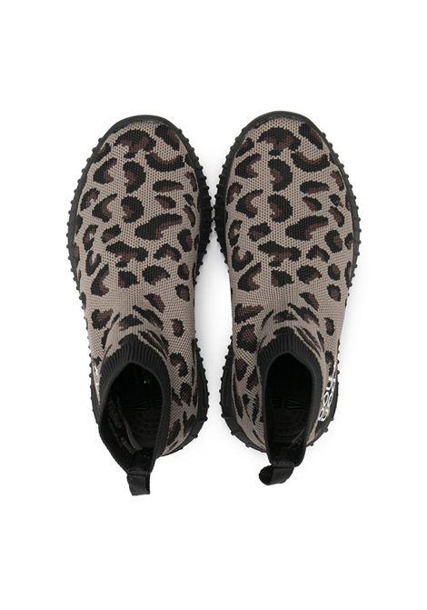 Scarpa leopardata DOUUOD | STIVALETTI | 11SOCK08MACULATONERO
