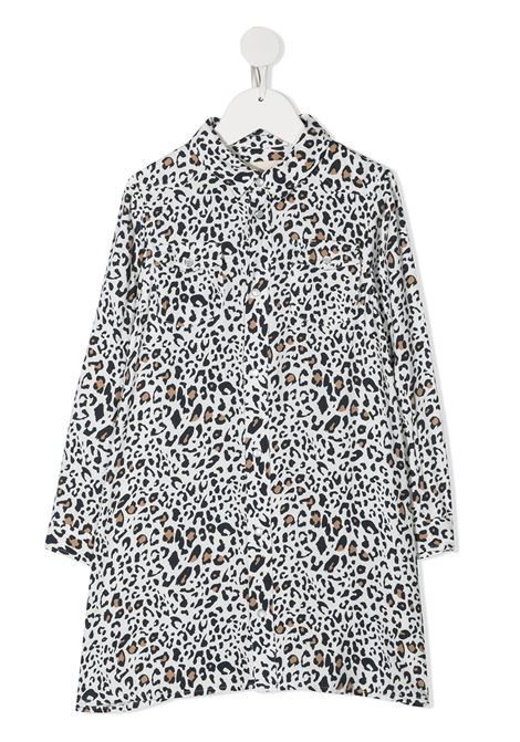 Black/white dress DOUUOD | DRESS | AB0427110102
