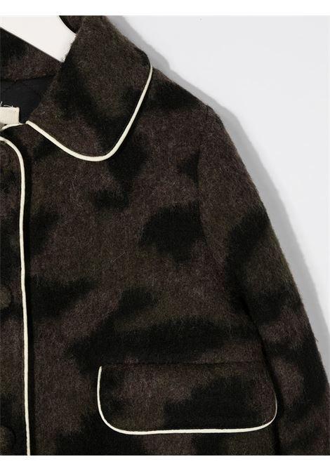 Cappotto verde scuro DOUUOD | CAPOSPALLA | CT1020580318