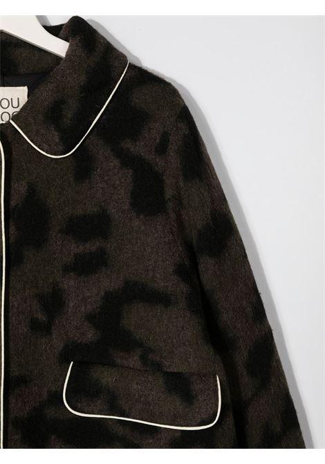 Dark green coat DOUUOD | OUTERWEAR | CT10T20580318