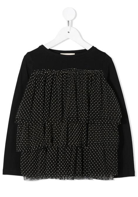 T-shirt nera DOUUOD | T-SHIRT | TE0137100995