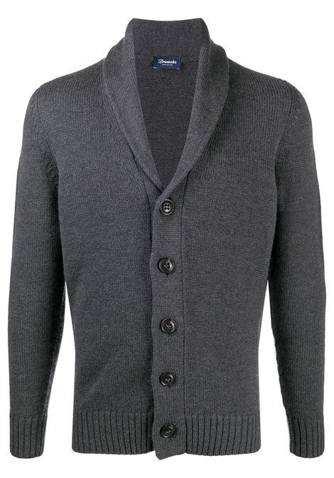 Cardigan grigio DRUMOHR | CARDIGAN | D5M419671