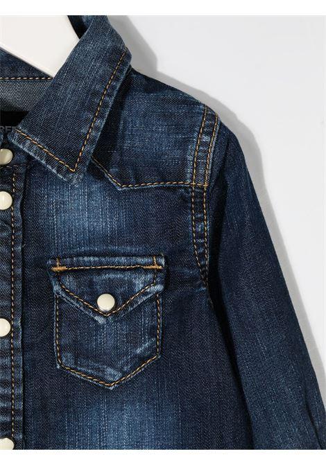 Camicia blu DSQUARED ICON | CAMICIE | DQ033GD001QBD2C112BDQ01
