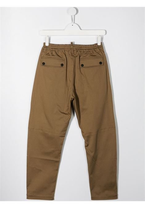 Pantalone beige DSQUARED ICON | PANTALONI | DQ046GD00XCTD2P286MDQ728