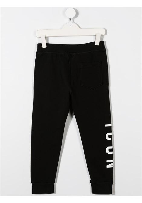 Pantalone nero DSQUARED ICON | PANTALONI | DQ047YD002YD2P295UDQ900