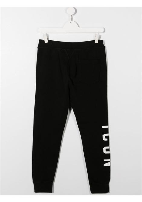 Pantalone nero DSQUARED ICON | PANTALONI | DQ047YD002YTD2P295UDQ900