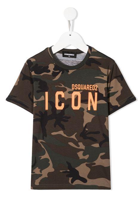 T-shirt mimetica DSQUARED ICON | T-SHIRT | DQ048SD002VD2T582UDQC03