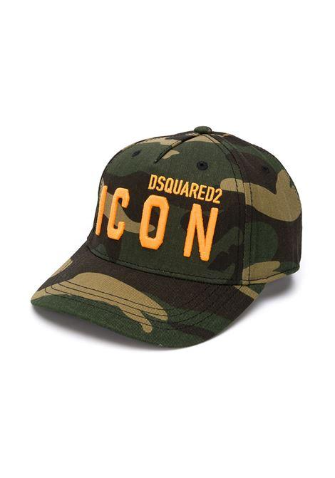 Cappello mimetico DSQUARED ICON | CAPPELLI | DQ04IBD003AD2F118UDQC03