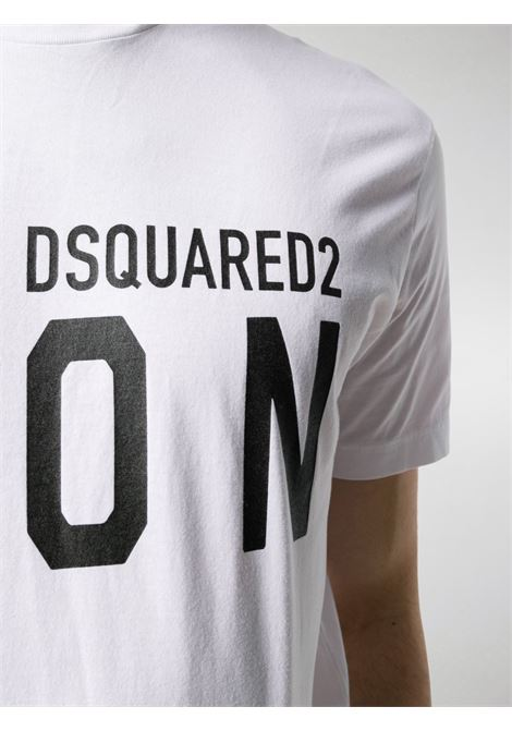 T-shirt bianca DSQUARED ICON | T-SHIRT | S79GC0003S23009100