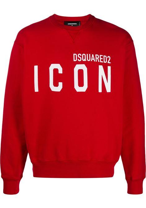 Red sweatshirt DSQUARED ICON |  | S79GU0004S25042309