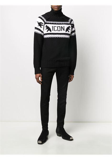 Black/white jumper DSQUARED ICON |  | S79HA0004S17434961