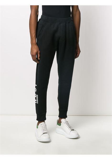 Pantalone nero DSQUARED ICON | PANTALONI | S79KA0004S25042900