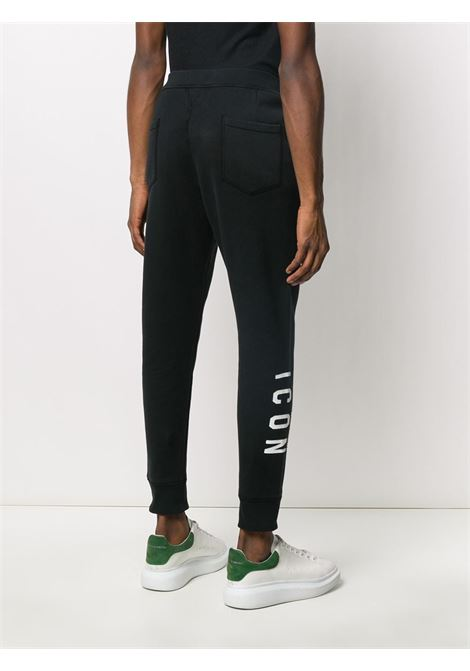 Black trousers DSQUARED ICON | TROUSERS | S79KA0004S25042900