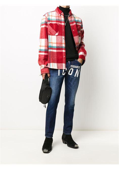 Jeans blu DSQUARED ICON | PANTALONI | S79LA0012S30309470