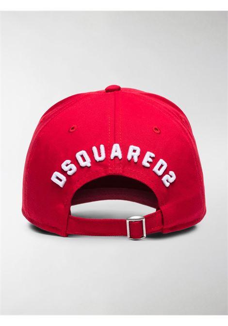 Cappello rosso DSQUARED | CAPPELLI | BCM400105C00001M068