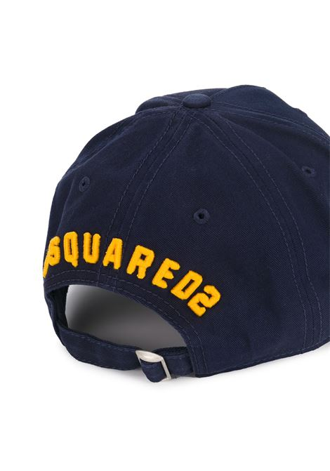 Cappello blu DSQUARED | CAPPELLI | BCM400105C00001M1386
