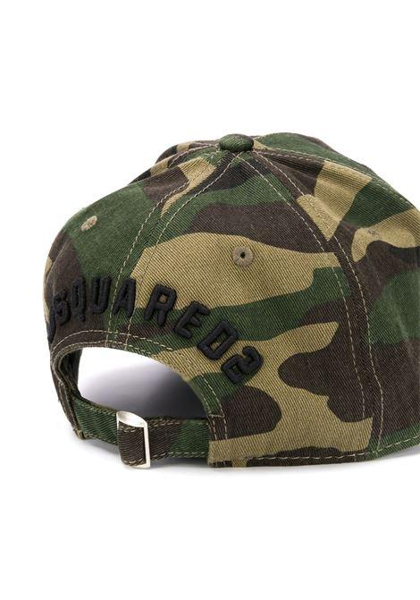 Cappello con stampa DSQUARED | CAPPELLI | BCM400108C03209M1116