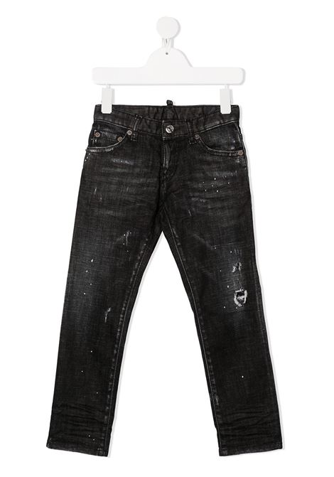 Jeans nero DSQUARED | JEANS | DQ01Q3D001TD2P110UDQ02